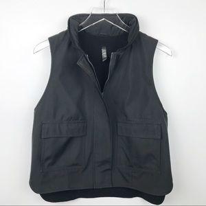 Laundry - Women's Black High Low Vest